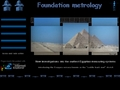 Foundation Metrology