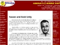 Nasser and Arab Unity