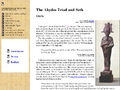Abydos Triad and Set